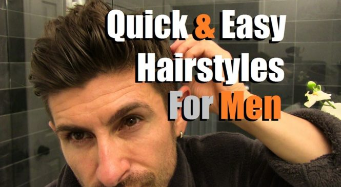 2 Quick & Easy Men's Hairstyles That Look AWESOME! Men's Hair Tutorial