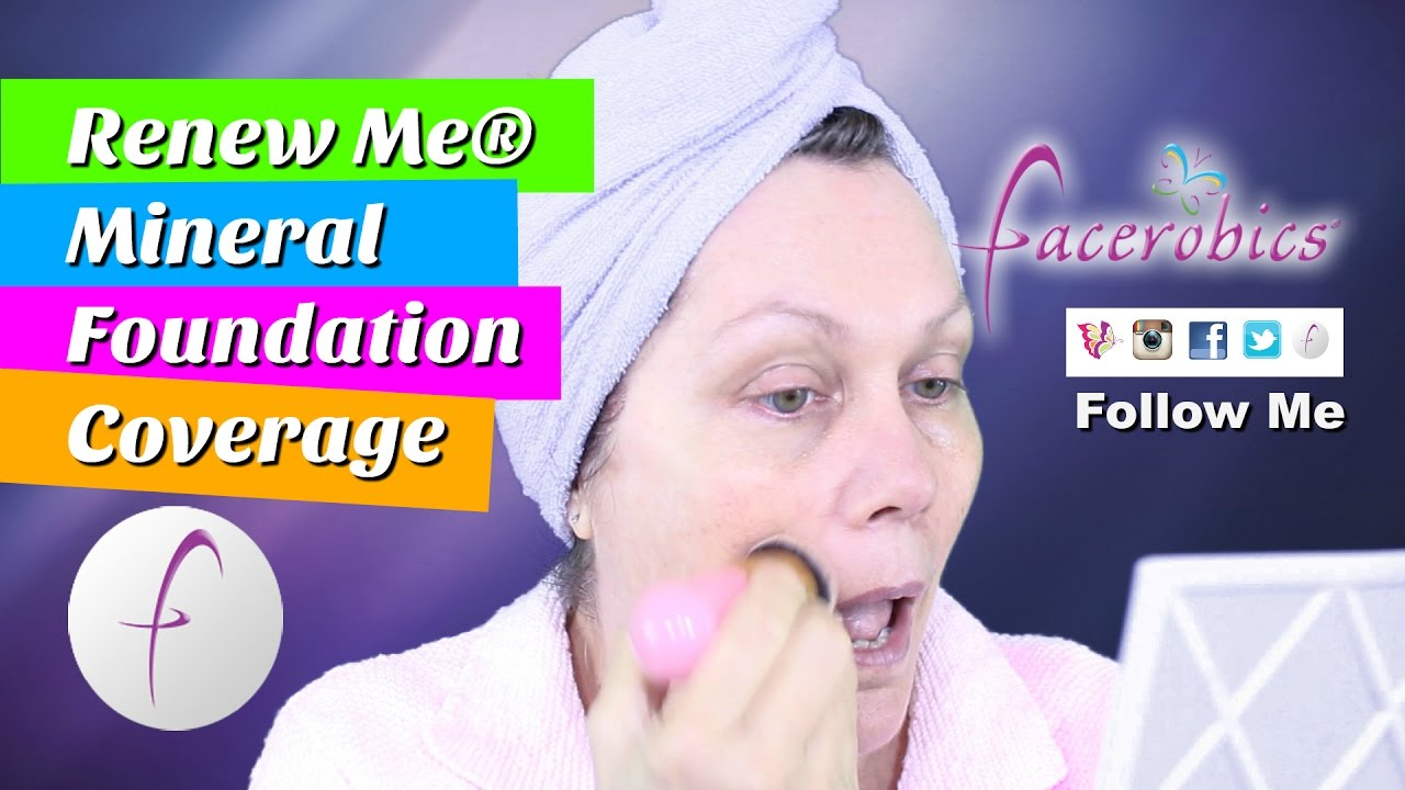 How Apply Mineral Foundation Makeup & Look Flawless – Look Flawless – Not Fake – Mineral Foundation
