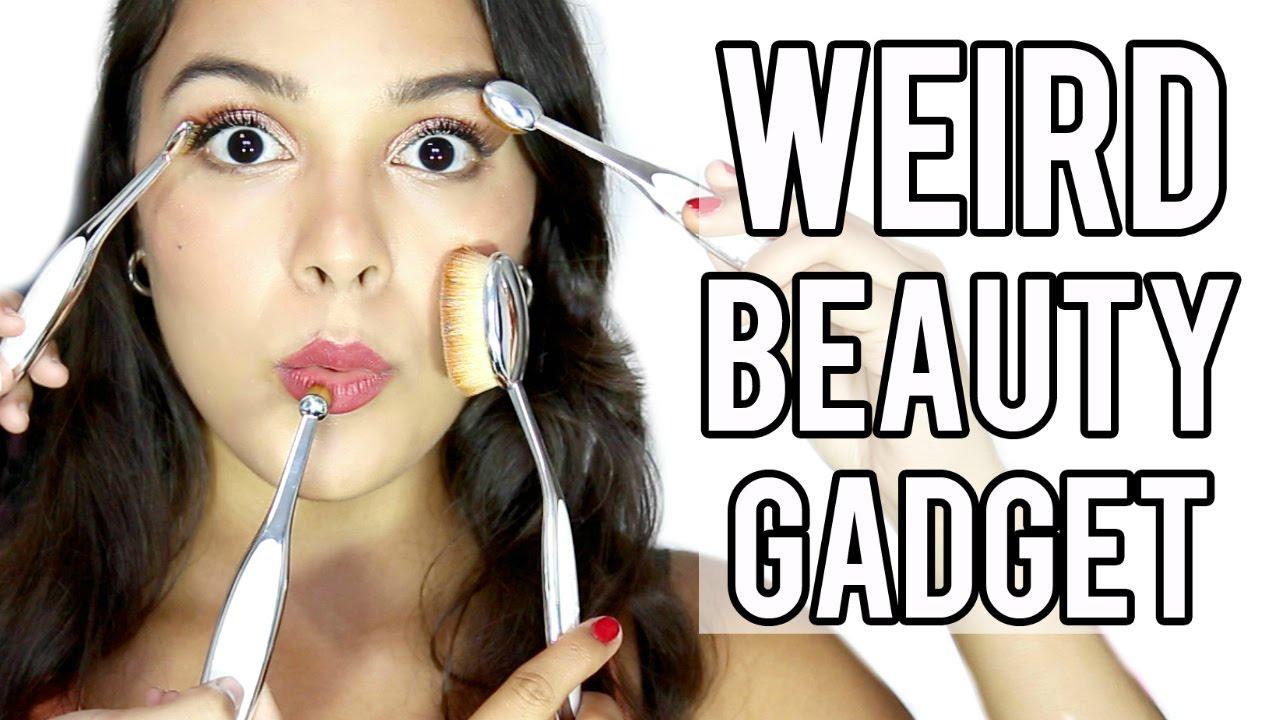 TEST IT OUT! WEIRD Beauty Gadgets: Artis Brushes!