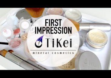 First impression: TIKEI Mineral Cosmetics (i samarbete med Tikei)