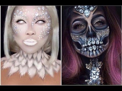 Top 15 Maquiagens para Halloween. (Easy Makeup) @larissacastroof