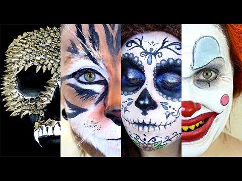 20 Halloween Makeup Ideas!!!