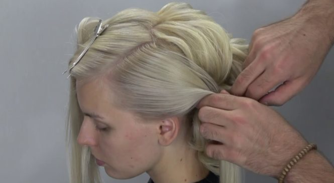 Super beauty transformation! hairstyle, hair color and make up! Farrukh Shamuratov