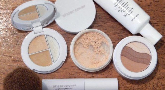 Sheer Cover Studio Mineral Makeup Application #FlawlessFinish @SheerCover